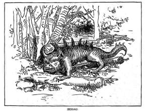 Hodag Illustration