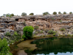 Montezuma Well near Sedona, Arizona