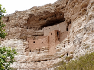 Montezuma Castle near Sedona, Arizona
